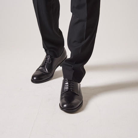 1 TUCK HOMME PANTS【BLK】