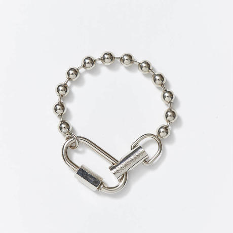 【入荷】LOYALTY   Ball Chain Blacelet  (Silver)