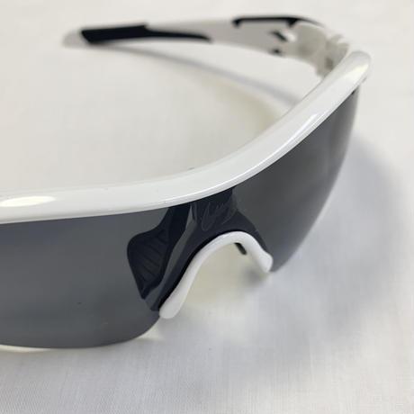 偏光レンズサングラス ホワイト