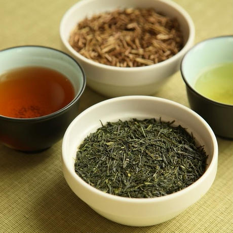 上級煎茶「緑仙」1本(80g)+「金焙じ茶」2本(40g × 2)  セット
