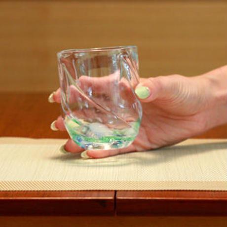 モールコバルトグリーンカップ
