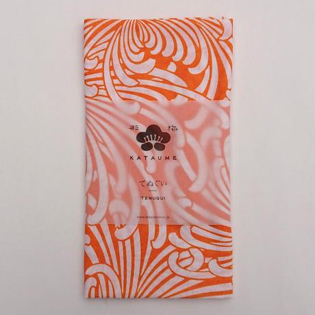 【形梅×TANBI】手ぬぐい 糸菊