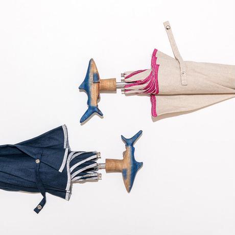 【LaLa Senorita】刺繍パラソル SHARK