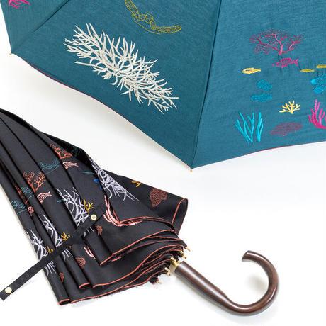 【LaLa Senorita】刺繍パラソル DEEP SEA