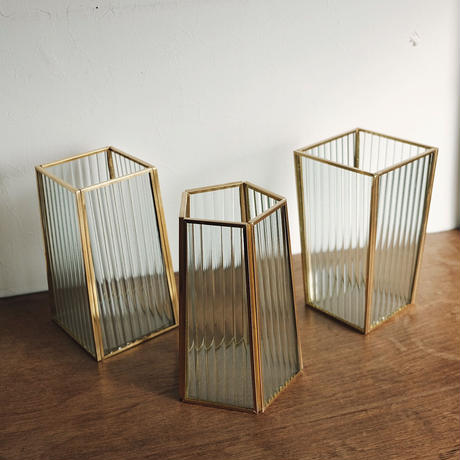 frame flower vase  / wave02