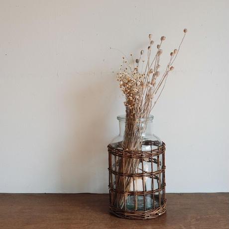 flower vase  / かご編み G-M