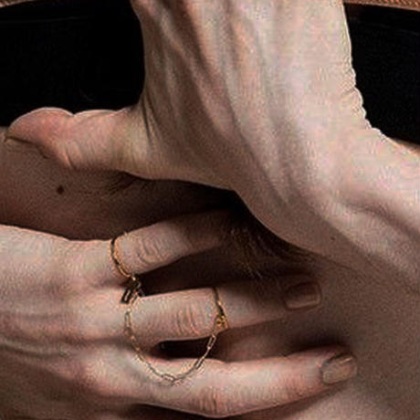 ロングチェーンリング/long chain ring/0079