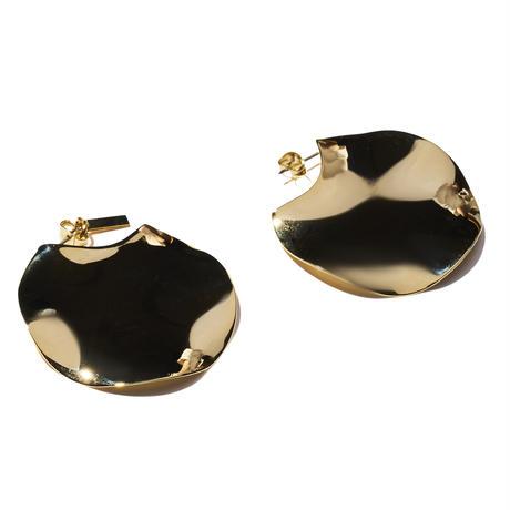 プレートイヤリングス(両耳ピアス)/plate earrings/0051
