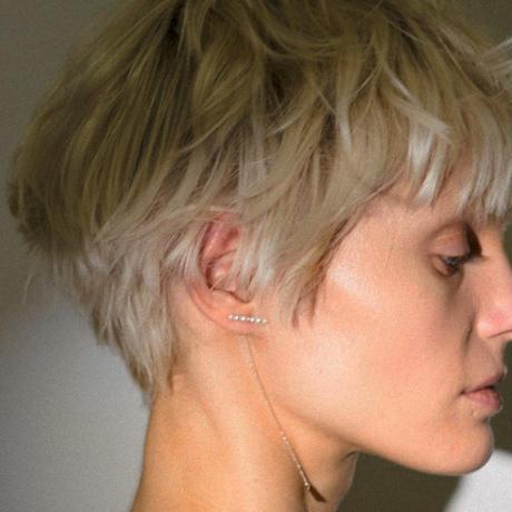 5パールイヤリング(片耳ピアス)/5 pearl earring /0105