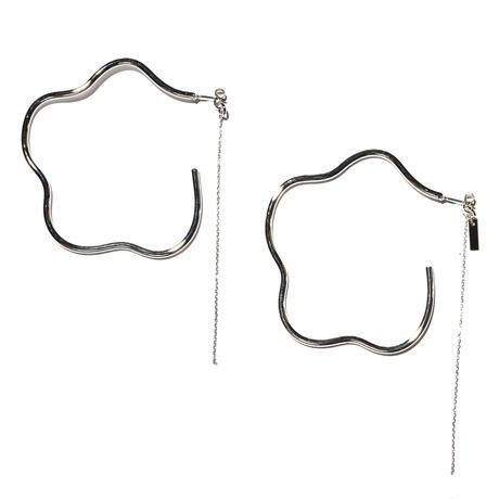 フラワーイヤリングス2(両耳ピアス)flower earrings2/0050