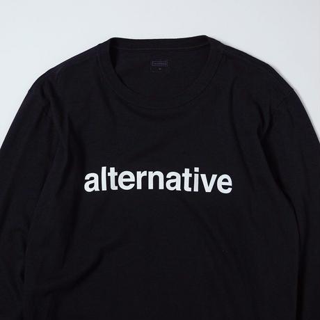 T-2117 / ARCHIVE / ALTERNATIVE / BLACK