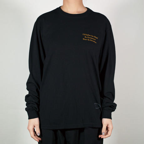 SLOGAN / LONG / BLACK