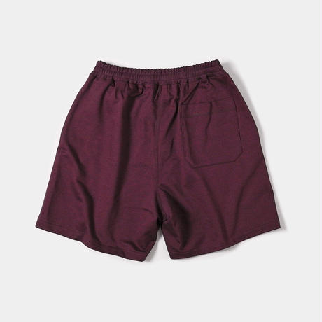 EZ-RELAX/SHORT / SWEAT / BORDEAUX
