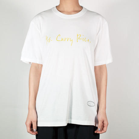 CURRY / HANDWRITE / WHITE
