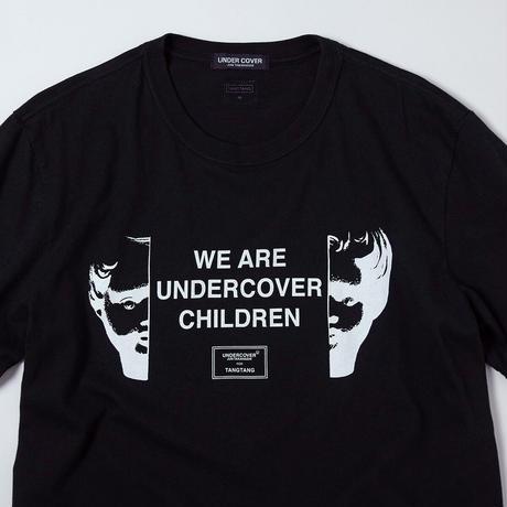 T-2105 / UNDERCOVER / CHILDREN / BLACK