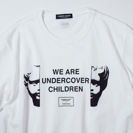 T-2102 / UNDERCOVER / CHILDREN / WHITE