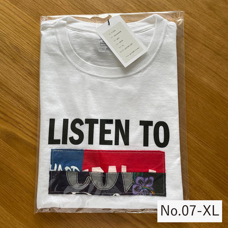 T-3102 / PATCHWORK / BOX / WHITE