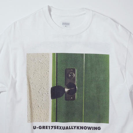 T-2108 / GASATANG / U-GRE17SEXUALLYKNOWING / WHITE
