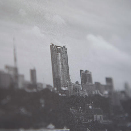ポスター  東京の空(40枚限定) A2+トリムマーク(トンボ)、インクマーク入り