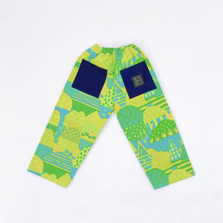 Bi TANSAN Pants 「Yamanami」green