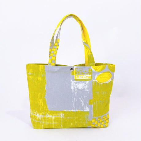 TANSAN Tote Bag M 「Suiden」gray