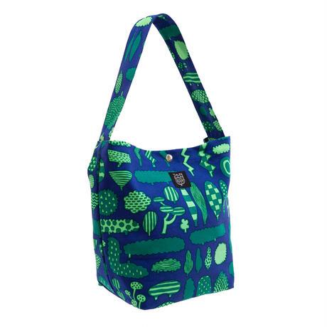 マチトートバッグ 「木の標本」blue