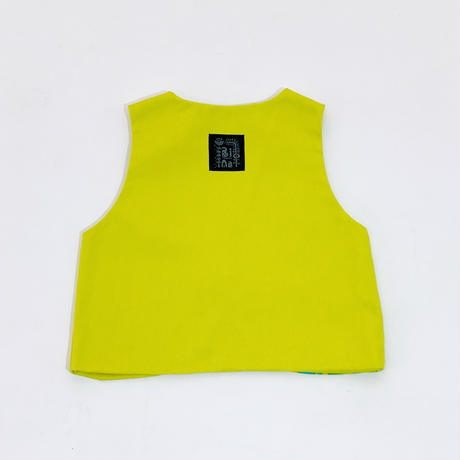 Bi TANSAN Vest「Yamanami」green