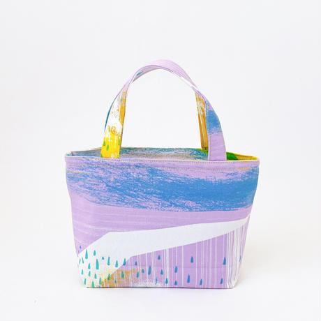Mini tote Bag 「Mizuumi」yuyake