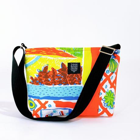 TANSAN Shoulder bag「Tea Time」orange