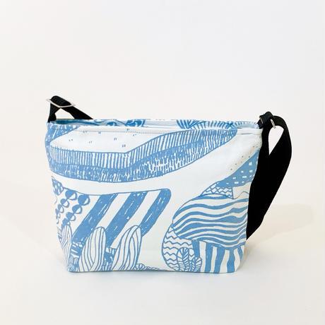 TANSAN Shoulder bag「Sanpo michi 」sky blue