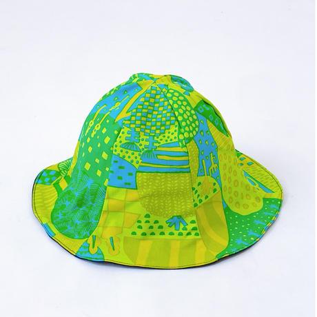 Bi TANSAN Tulip Hat「Yamanami」green