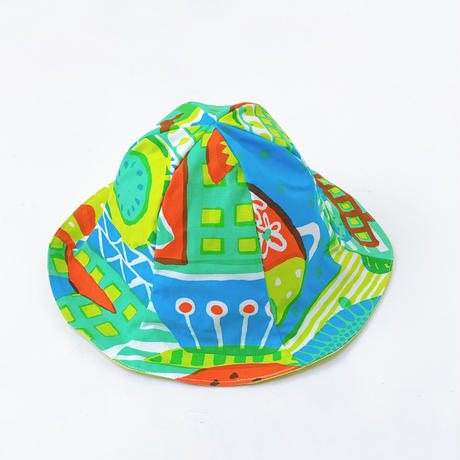 Bi TANSAN Tulip Hat「Welcome fruits」green