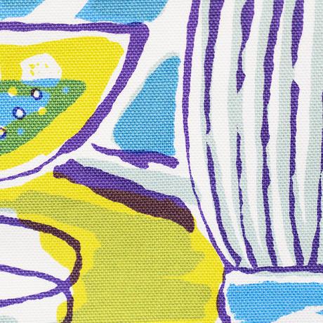 Mini tote Bag 「TEA TIME」blue