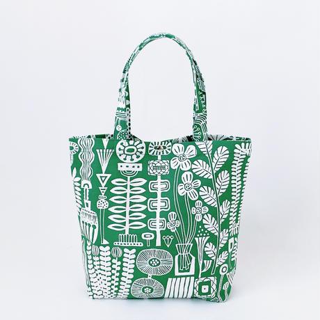 TANSAN Tote Bag L 「植物園」green