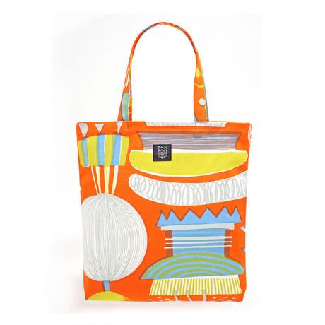 odekake BAG 「LAMP FLOWER」orange
