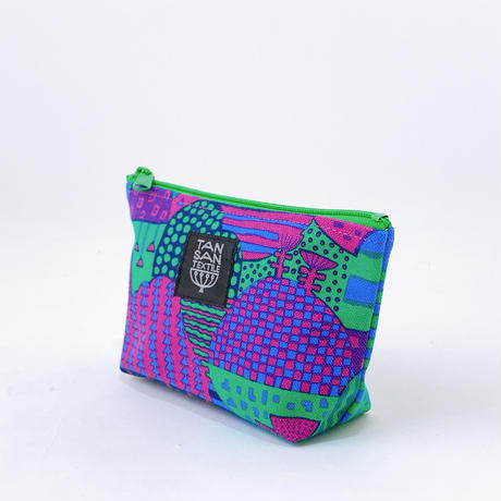 Machi Pouch Sサイズ「Yamanami」 purple