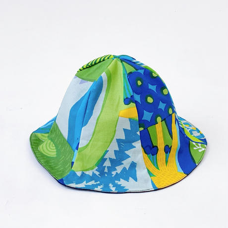 Bi TANSAN Tulip Hat「Mori no umi」blue