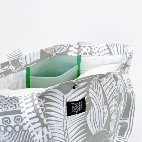 TANSAN Tote Bag L 「植物園」beige
