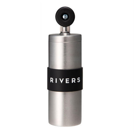 【RIVERS】 コーヒーグラインダー グリット シルバー