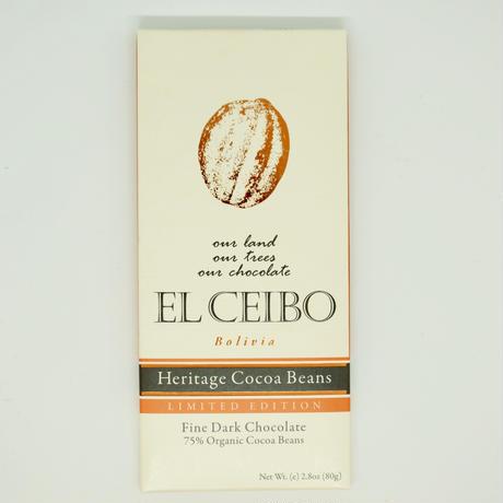 EL CEIBO Bolivia  ヘリテイジカカオチョコレート 80g