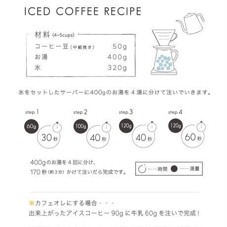 100g アイスコーヒーブレンド 深煎り