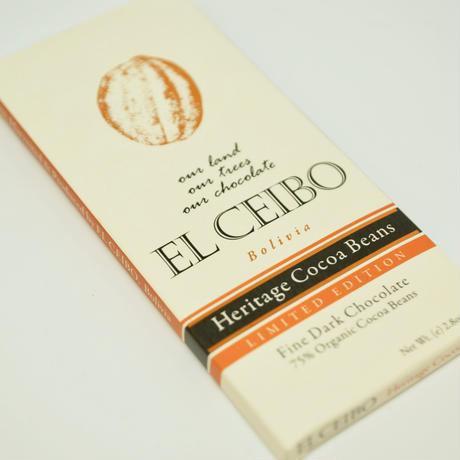 EL CEIBO Bolivia  ヘリテイジカカオビーンズチョコレート 80g