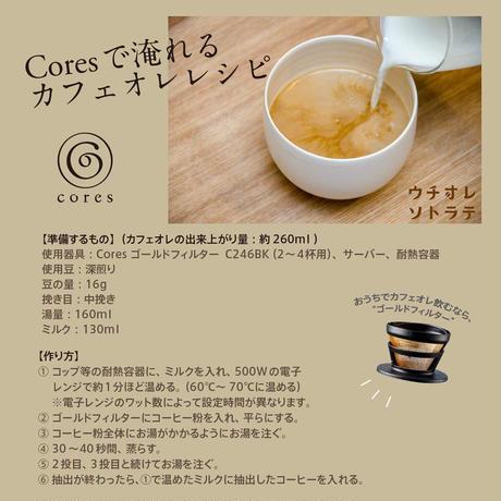【CORES】 ゴールドフィルター C246 (2-4杯用)