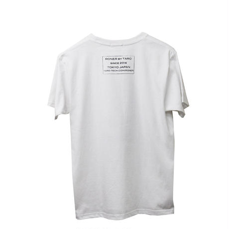 ADDICTED RONER   t-shirt   WHITE