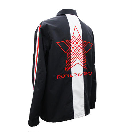 RONER   NAKED STAR  Coach jacket BLACK / RED
