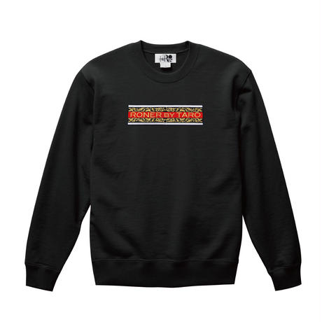 RONER Arabesque Box logo  sweat shirt