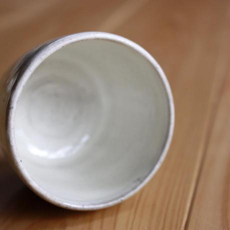 中里太郎右衛門窯 唐津猪口(絵粉引・松)