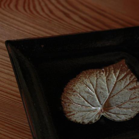 中里太郎右衛門窯 木の葉銘々皿(しゅうかいどう)