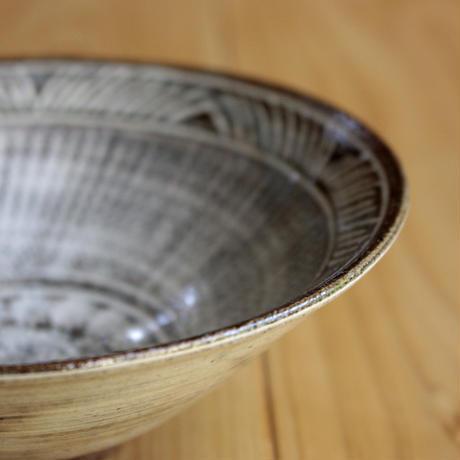 中里太郎右衛門窯 唐津三島茶碗
