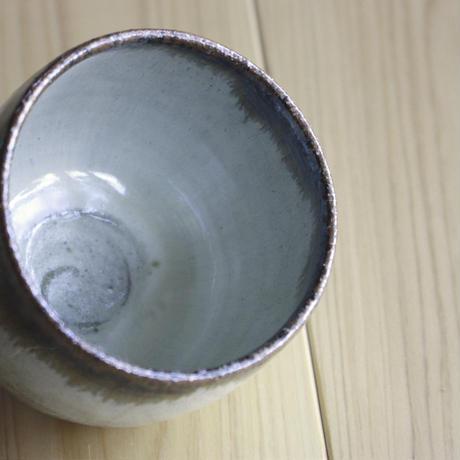 中里太郎右衛門窯 唐津猪口(斑唐津皮鯨・大)